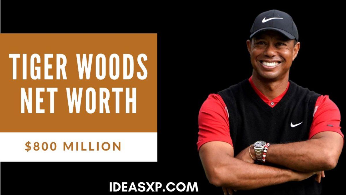 Tiger Woods Net Worth - IdeasXp